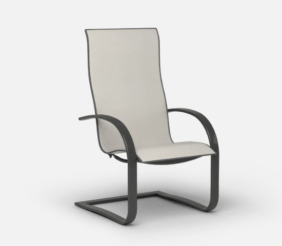 lana spring based dining chair
