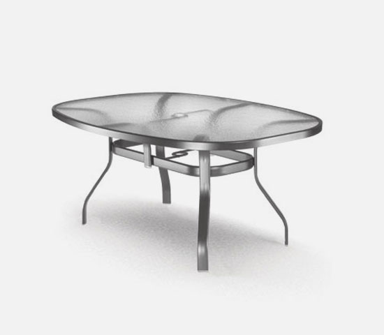 43 x 78 ellipse dining table
